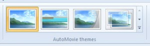 AutoMovie themes