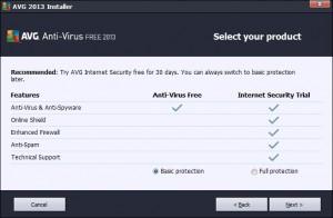 Basic Protection - AVG Free