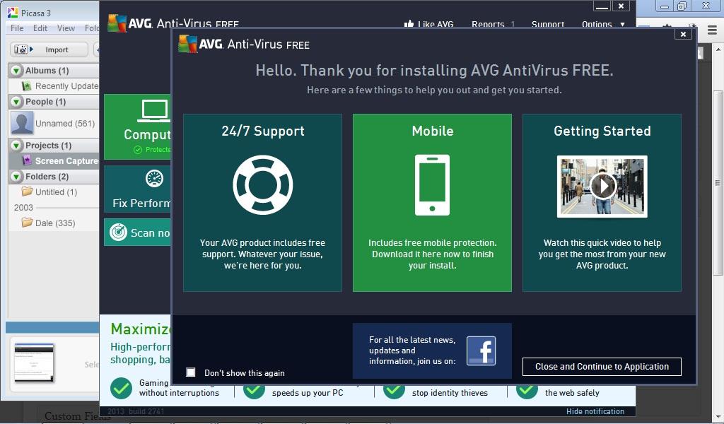 Install AVG Free