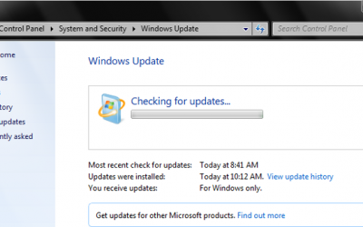 Windows 7 Updates Searching For Updates Forever